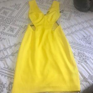 Yellow BEBÉ dress
